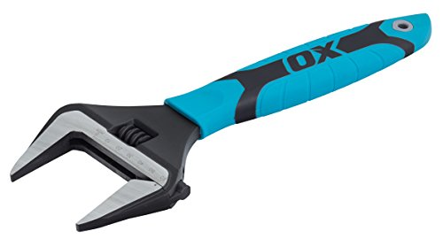 "OX Pro Series Adjustable Wrench Extra Wide Jaw 12"" (300mm)"