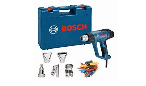 Bosch Professional Heißluftpistole GHG 23-66 (2.300 Watt, Temperaturbereich 50-650 °C, inkl. Display, 2...