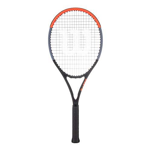 WILSON Tennisschläger Clash 100' unbesaitet schwarz/rot (701) 3