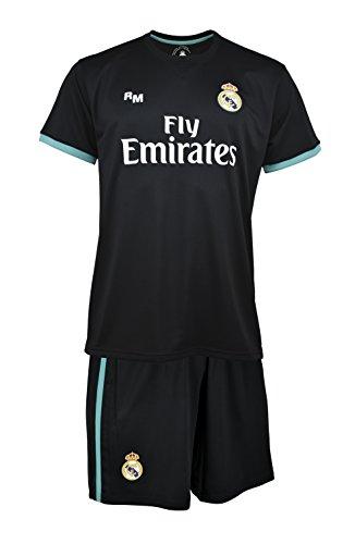 Real Madrid Ronaldo Fußball Trikot Kinder XX-Small schwarz / blau (Hersterllergröße: 4 Jahre)