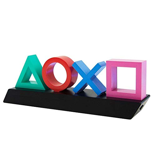 Playstation Z890845 PP4140PS Tasten Symbol Lampe mit Farbwechsel Funktion, Mehrfarbig