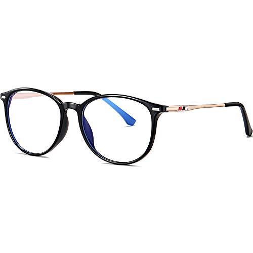 Joopin Blaulichtfilter Brille ohne stärke Damen Herren Computerbrille Blaufilter Gaming Brille Bluelight...