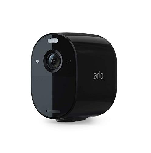 Arlo Essential Spotlight WLAN Überwachungskamera | Kabellos, 1080p, Farbnachtsicht, 2-Wege Audio, 6 Monate...
