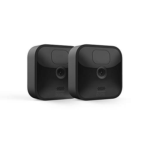 Die neue Blink Outdoor – kabellose, witterungsbeständige HD-Sicherheitskamera mit zwei Jahren...