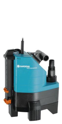 Gardena Comfort Schmutzwasserpumpe 8500 aquasensor: Tauchpumpe mit 8.300 l/h Fördermenge, 380W Motor mit...