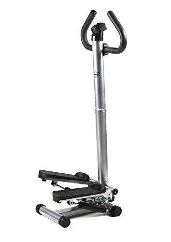 BODYCOACH Up-Down Fitness Step Hometrainer Stepper mit Haltegriff einstellbare Stepp-Höhe