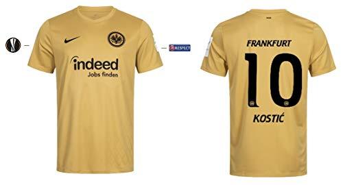 Eintracht Frankfurt Trikot Herren 2019-2020 Third UEL (Kostic 10, S)