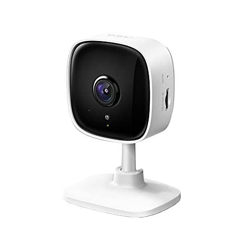 TP-Link Tapo C100 WLAN IP Kamera Überwachungskamera innen (1080p-Auflösung, 2 Wege Audio, 9m Nachtsicht ,...
