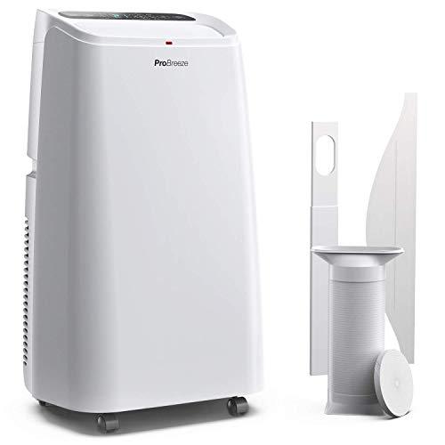 Pro Breeze™ 4-in-1 Mobile 12000 BTU Klimaanlage mit Smart App und Fernbedienung - Heizen und Kühlen,...