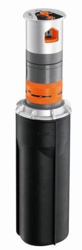 Gardena Sprinklersystem-T 380 Premium Turbinenregner, Schwarz, 21,6x8,3x8,3 cm