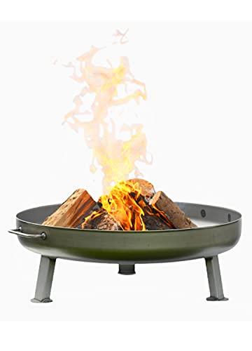 Czaja Feuerschalen® Feuerschale Bonn Ø 80 cm - mit Wasserablaufbohrung - Feuerschalen für den Garten,...