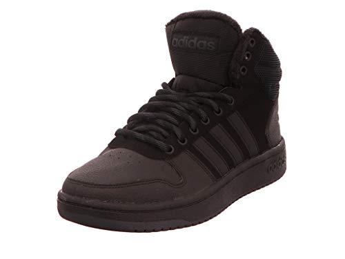 adidas Hoops 2.0 Mid, Herren Basketballschuhe, Schwarz (Cblack/Cblack/Carbon Cblack/Cblack/Carbon), 40 EU (6.5...