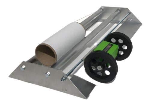 Tapetenabroller Tapeten Abroller 60-115 Meterzähler Tapeziergerät Tapeziermaschine (115 cm)