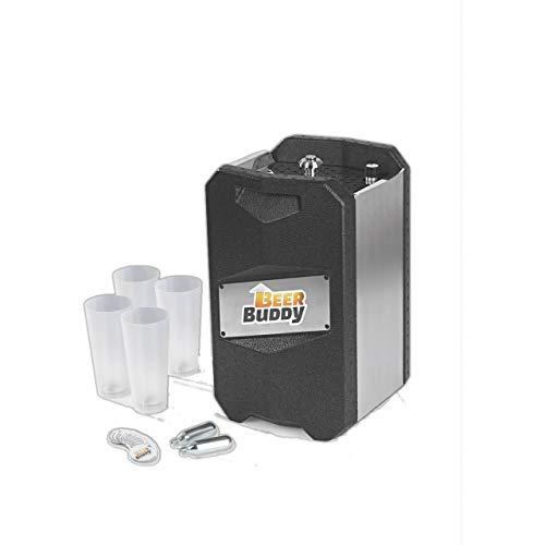Beer Buddy Version 2020 Bottoms Up Beer Zapfanlage mobil, da ohne Strom. Für alle 5 Liter Partyfässer....