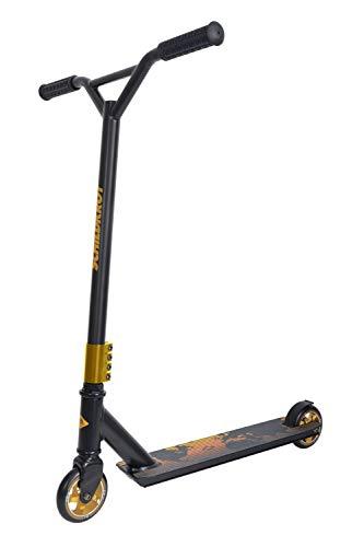Schildkröt Stunt Scooter Untwist, Design: Fire, wertiger Stunt Scooter mit Alu-Felge, 100 mm PU Räder, für...