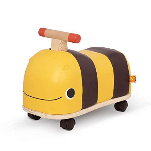 B. toys by Battat BX1779Z Rutschauto aus Holz – Rutscher Biene auf Rollen für Kinder und Babys,...