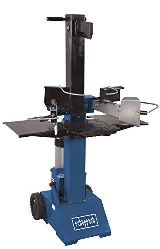 Scheppach HL810 Hydraulikspalter Holzspalter bis 550 mm | 8 Tonnen Spaltkraft 8t | Brennholzspalter 400V |...