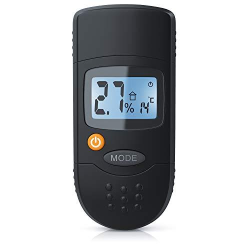Brandson - Feuchtigkeitsmessgerät für Holz und Baustoffe - Holzfeuchtemessgerät - Feuchtigkeits Detektor -...