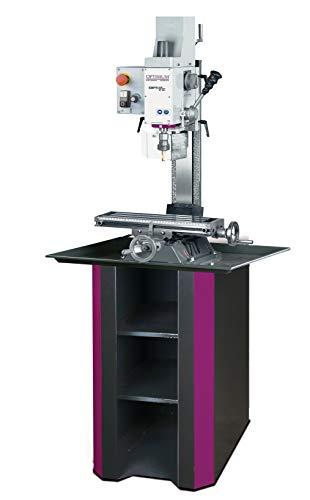 Optimum Fräsmaschine OPTImill BF 16Vario (Sicherheitselektrik, Bohr-Fräskopf neigbar +-90°), 3338116