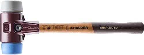 SIMPLEX-Schonhämmer, mit Stahlgussgehäuse und hochwertigen Holzstiel | Ø=30 mm | 3013.030