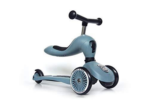 Scoot & Ride Highwaykick 1 - Steel - Scooter mit sitz