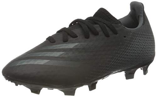 adidas Mens X GHOSTED.3 FG Soccer Shoe, CBLACK/CBLACK/GRESIX,44 2/3 EU