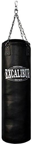 Handgefertigter Boxsack Excalibur PRO – Extrem Robust, doppelte Nähte, inklusive Kettenaufhängung,...