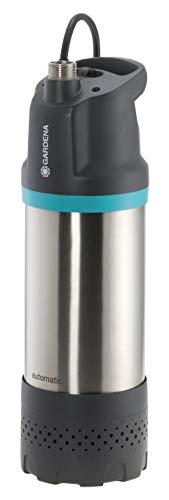 GARDENA Tauch-Druckpumpe 5900/4 inox automatic: Automatische Tauchdruckpumpe mit 5900 l/h Fördermenge, mit...