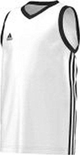 adidas Basketball Teamsport Kinder commander Kinder Wht/black , Größe adidas:164
