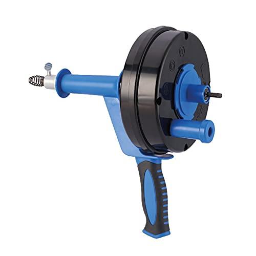 HARTOOL Rohrreinigungsgerät mit Spirale 6.35 mm x 7.6 Meter | Rohrreinigungsspirale ausziehbar |...