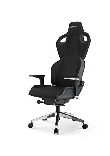 RECARO Exo FX Gaming Chair – Ergonomischer, höhenverstellbarer Stuhl für Gamer mit 5D-Armlehne – Iron...