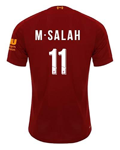 Liverpool FC - M. Salah 11 Liverpool Trikot Herren 2019-2020 Home PL (Red, L)