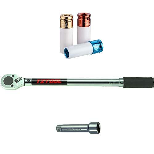 TZTool 1/2' Torque wrench set 8012E