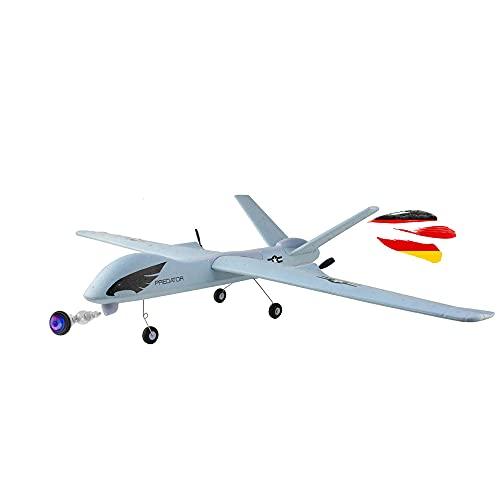 RC ferngesteuertes Militär Flugzeug mit HD-Kamera, Modellbau-Flieger, Cam-Drohne mit Akku und...