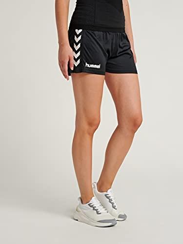 Hummel Damen Shorts Core S, schwarz(black), L, 11-086-2001