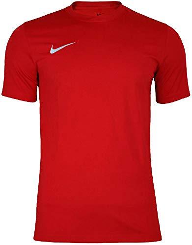 NIKE Herren Kurzarm T-Shirt Trikot Park VI, Rot (University Red/White/657), M