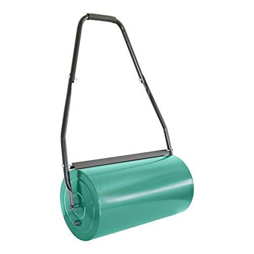 Grafner Rasenwalze 60 cm Arbeitsbreite, befüllbar mit Sand oder Wasser bis zu 60 kg, Durchmesser 32 cm,...