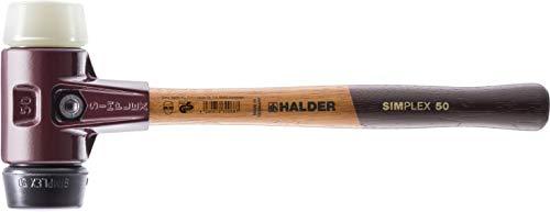 SIMPLEX-Schonhämmer, mit Stahlgussgehäuse und hochwertigen Holzstiel   Ø=60 mm   3028.060