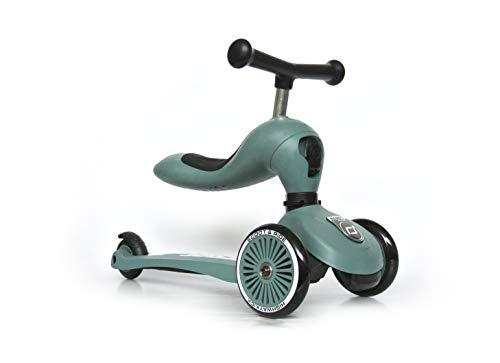 Scoot & Ride 3416 - Highwaykick 1 - Forest - Scooter mit sitz
