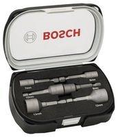 Bosch Professional 6tlg. Steckschlüssel-Set für Sechskantschrauben