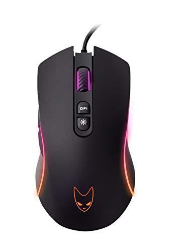 Oversteel SOLDER - RGB Gaming-Maus, 7 programmierbare Tasten, 4200 DPI