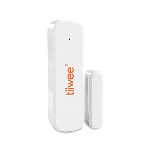 tiiwee Fenster & Tür Sensor TWWS02 für das tiiwee Home Alarm System - Alarmanlage Sicherheitstechnik...