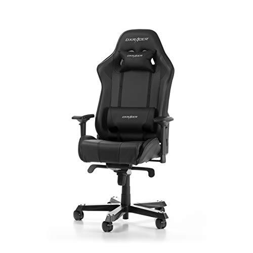 DXRacer King Series K06-N Gaming Stuhl aus Kunstleder, Schwarz