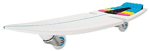 Razor Kinder Rip Surf Skateboard 2 Wheels, Teal/Orange, One Size