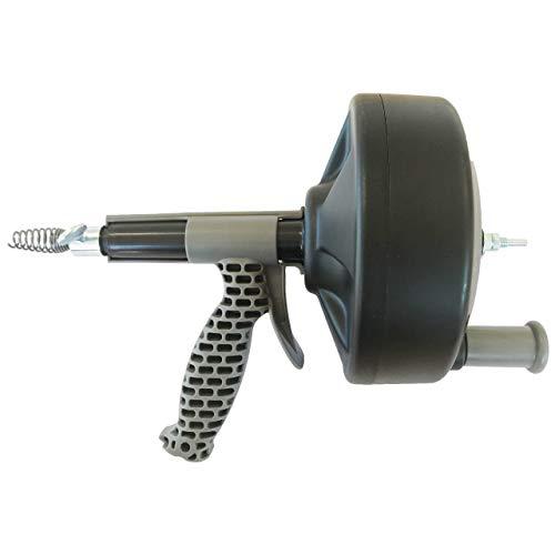 Rohrreinigungsspirale für Bohrmaschine oder Handbetrieb, 7,5m x 6,4mm