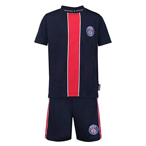 Paris Saint-Germain Trikot + Shorts PSG, offizielle Kollektion, Kindergröße für 4-Jährige blau