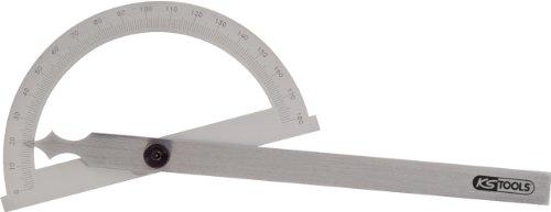 KS Tools 300.0640 Winkelgradmesser mit offenen Bogen, 120mm