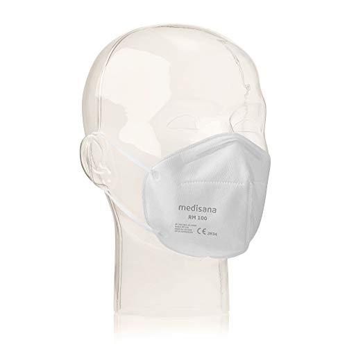 Medisana RM 100 FFP2/KN 95 Atemschutzmaske Staubmaske Atemmaske 3-lagig infektionssichere staubsichere...