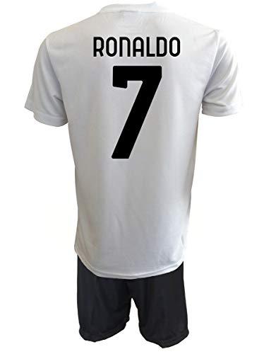 Official Product Cristiano Ronaldo 7 CR7 zugelassene Nachbildung 2020-2021 Kinder (Größen: 2, 4, 6, 8, 10,...