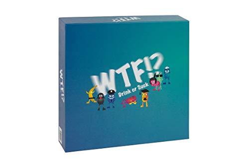 WTF!? Drink or Suck Trinkspiel / lustiges Partyspiel ab 4 Spielern / einfach zu erlernen / ideal für...